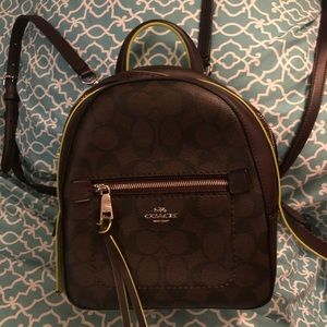 Coach backpack/ purse